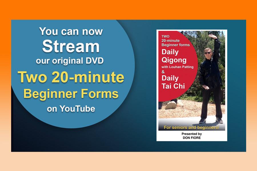 YouTube Streaming – Daily Qigong & Daily Tai Chi