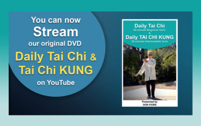 YouTube Streaming – Daily Tai Chi & Tai Chi KUNG
