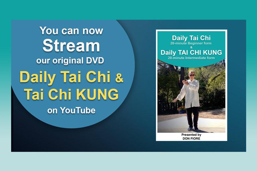 Streaming Daily Tai Chi & Tai Chi KUNG