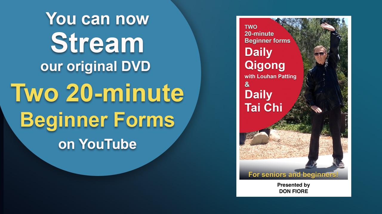 Streaming - Daily Qigong and Tai Chi